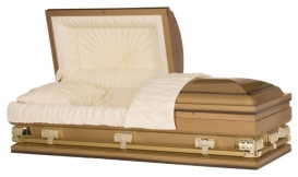 28,33, 36 American Copper 18 Gauge Casket